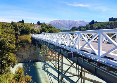 AFTER - Rakaia Gorge Bridge, New Zealand
