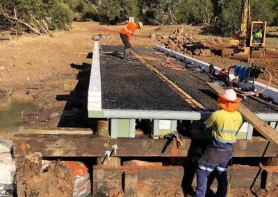 NiuBridge Boral Engineered wood product, Installation Ross Crossing Queensland Australia