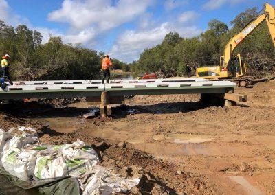 NiuBridge Installation Ross Crossing QLD, Australia