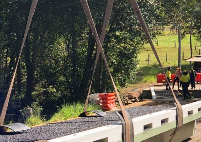 Kit Bridge - NiuBridge Installation in Stephan Road. Gympie