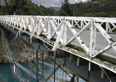 BEFORE - Rakaia Gorge Bridge, New Zealand